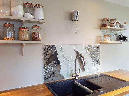 Waterfall Splashback